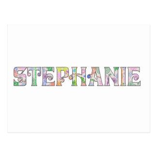 Personalized for Stephanie Postcard