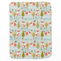 Personalized Fox Blanket