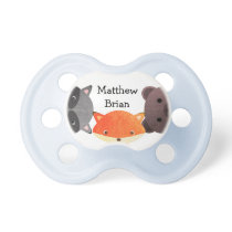 Personalized Fox Pacifier