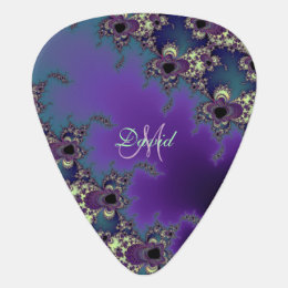 Personalized Fractal Design Custom Guitar Pick