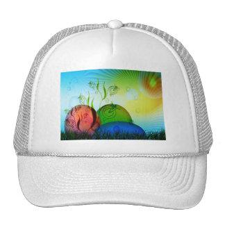 Personalized Fractal Easter Eggs Trucker Hat