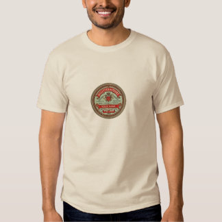 Personalized French Apothecary Label T Shirt
