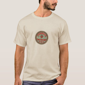 Personalized French Apothecary Label T-Shirt
