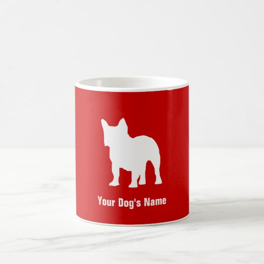 Personalized French Bulldog フレンチ・ブルドッグ Coffee Mug