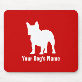 Personalized French Bulldog フレンチ・ブルドッグ Mouse Pad