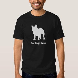 Personalized French Bulldog フレンチ・ブルドッグ T-shirt