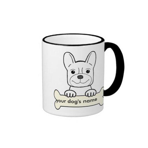 Personalized French Bulldog Coffee Mug