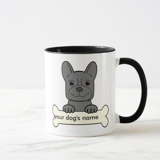 Personalized French Bulldog Mug