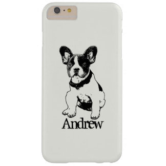 Personalized French Bulldog Puppy Pick Your Color Barely There iPhone 6 Plus Case