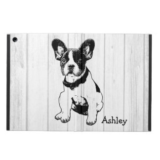 Personalized French Bulldog Puppy Pick Your Color iPad Air Cover