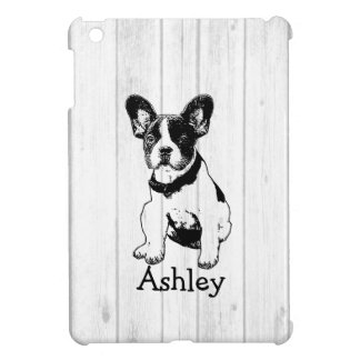 Personalized French Bulldog Puppy Pick Your Color iPad Mini Case