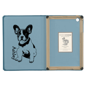 Personalized French Bulldog Puppy Pick Your Color iPad Mini Cover