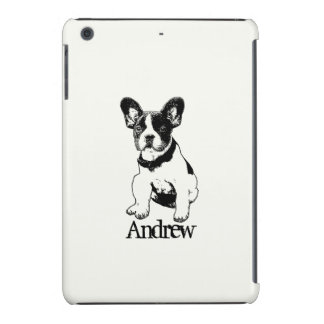 Personalized French Bulldog Puppy Pick Your Color iPad Mini Retina Covers