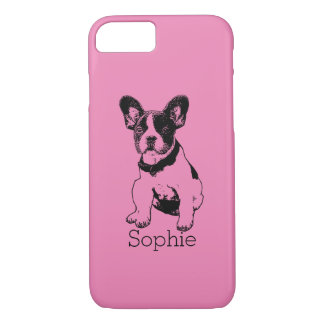 Personalized French Bulldog Puppy Pick Your Color iPhone 8/7 Case