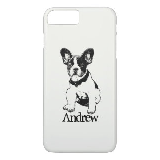 Personalized French Bulldog Puppy Pick Your Color iPhone 8 Plus/7 Plus Case