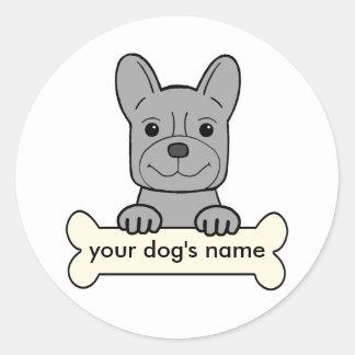 Personalized French Bulldog Stickers