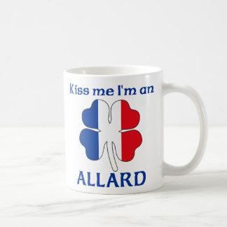 Personalized French Kiss Me I'm Allard Classic White Coffee Mug