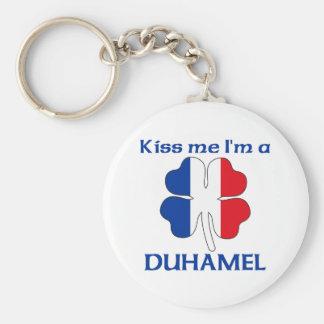 Personalized French Kiss Me I'm Duhamel Key Chains