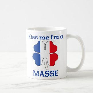 Personalized French Kiss Me I'm Masse Mugs