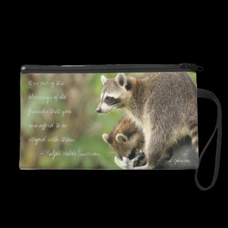 Personalized Friends & Blessings Friendship Quote Wristlet