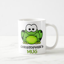 Personalized Frog Mug