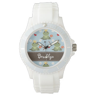 Personalized Frog Prince Wristwatches