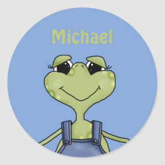 Personalized  Frog  stickers