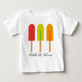 Personalized Frozen Treats Kids Tee
