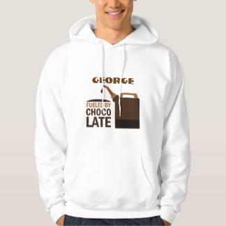 Personalized Fueled By Chocolate Job Quote Hoodie