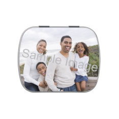 Personalized Full Size Color Photo Candy Tin at Zazzle