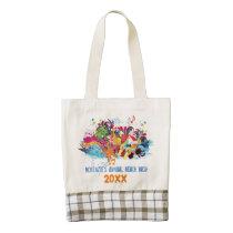 Personalized Fun Colorful Photo Beach Bag