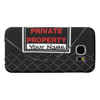 Personalized Fun Cool Unique Monogram Samsung Galaxy S6 Case