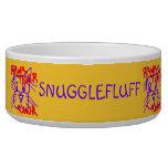 Personalized Fun Rawr Tiger Rawr Bowl Dog Food Bowl