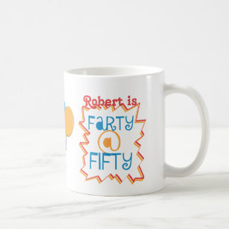 Personalized Funny 50th Birthday Gag Gift Coffee Mug