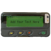 Personalized Funny 90s Old School Pager Barely There iPhone 6 Plus Case