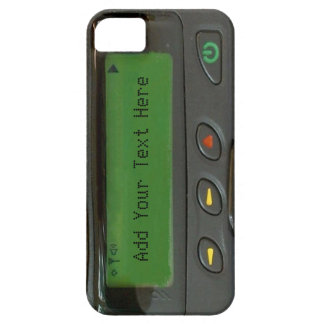 Personalized Funny 90s Old School Pager iPhone 5 Case