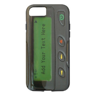 Personalized Funny 90s Old School Pager iPhone 7 Case