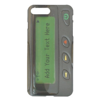 Personalized Funny 90s Old School Pager iPhone 8 Plus/7 Plus Case