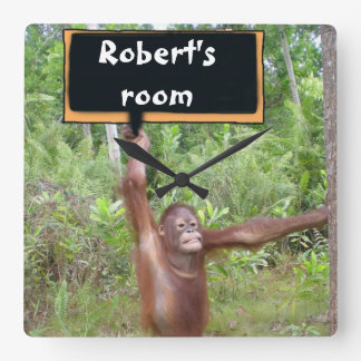 Personalized Funny Animal Wall Clock