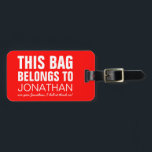 """Personalized Funny Bag Attention 