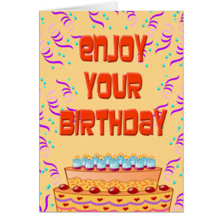 Personalized Funny Birthday Card