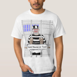 Personalized funny face Convict template Shirt
