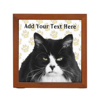 Personalized Funny Grumpy Cat Desk Organizer