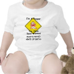 Personalized Funny New Baby Creeper Bodysuit