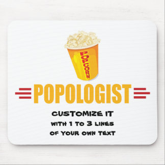 Personalized Funny Popcorn Mouse Pad