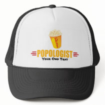 Personalized Funny Popcorn Trucker Hat