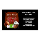 Personalized Funny Sports Bar and Grill Business Card Template