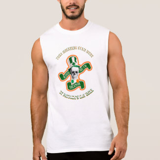 Personalized funny St Patricks day drinking team Sleeveless Shirts