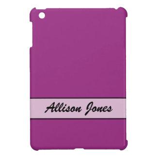 Personalized Fuschia Purple Color iPad Mini Cases