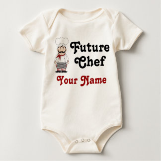 Personalized Future Chef Infant Creeper
